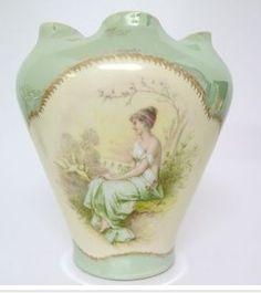 R C Bavaria. 18.5 cm Floral Theme, Old Ones, Bavaria, Artist, Diy, Home Decor, Decoration Home, Bricolage, Room Decor