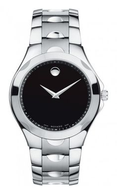 Movado Watch, Mens Swiss Luno Sport Two Tone Stainless Steel Bracelet 0606381 - Mens Watches - Jewelry & Watches - Macys Movado Mens Watches, Mens Sport Watches, Men's Watches, Stainless Steel Watch, Stainless Steel Bracelet, Black Museum, Vintage Watches For Men, Watch Brands, Cool Watches