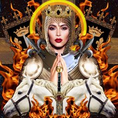 Artist's Portrayal Of Kim Kardashian As A Religious Idol Stirs Controversy, Obviously