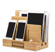 Anniversary Gifts For Men,Gift For Him,Personalized iPad Dock,Birthday Gifts For Boyfriend, iPhone D Gifts For Your Boyfriend, Birthday Gifts For Boyfriend, Gifts For Husband, Gifts For Father, Mother Gifts, Husband Birthday, Fathers, Charging Station Organizer, Docking Station