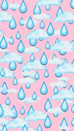 Imagem de wallpaper, background, and pink, chuva, papel de parede