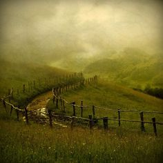 A winding country road / Another Place by CrinaPrida