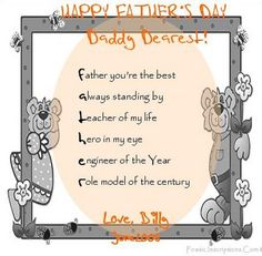 Fathers day poems in spanish for kids F athers day poems in spanish for kids Fathers day poems from kids in spanish Fathers d. Fathers Day Poems, Fathers Day Crafts, Us Holidays, Daddy Day, God Loves You, Holiday Pictures, You're Awesome, Sunday School, Gods Love