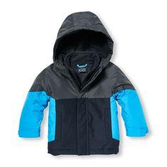 Toddler Boys Hooded 3-in-1 Jacket