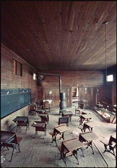 Black classroom, Mobile, Alabama, 1956 ~ Photo by...Gordon Park©