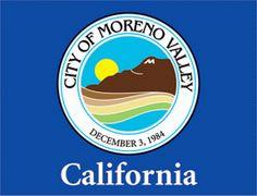 City Of Moreno Valley | flag of Moreno Valley, California]