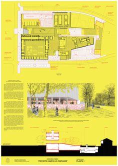 Beals + Lyon Arquitectos, primer lugar en concurso de plan maestro del campus Lo Contador / Chile