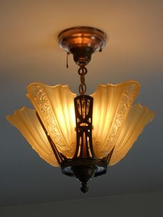 1920 u0027s art deco antique slip shade chandelier 1920 u0027s light fixtures   light fixtures   pinterest   lights      rh   pinterest com
