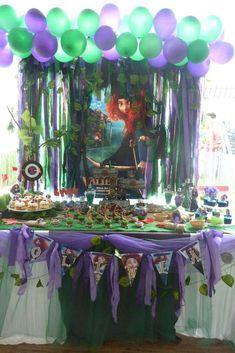 Merida Birthday Party Ideas | Photo 1 of 36 | Catch My Party