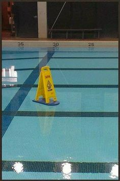 """Howard G. Silverman - Google+ - Friday Humor Uh oh! Is that a """"wet floor"""" sign in the pool?…"""