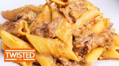 Philly Cheesesteak Pasta   Twisted Food