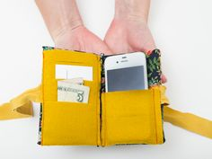 The House That Lars Built.: Make an iPhone case & wallet