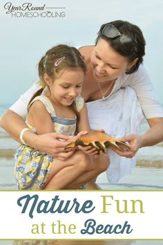 Nature Fun at the Beach - By Misty Leask #Fun #Beach #Nature