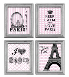 I love Paris Art  Eiffel Tower Print  Modern poster by EEartstudio, $29.99