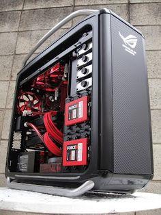 Computer Case Modding Project ROG Cooler Master Cosmos Pure by Ronnie Hara http://www.modderdiaries... Tu tienda de informatica online