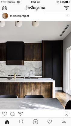 """Melbourne Residential Project designed by Flack Studio ~ kitchen interior decoration design inspiration styling photography Küchen Design, Home Design, Layout Design, Design Ideas, Design Projects, Diy Projects, Home Interior, Interior Design Kitchen, Kitchen Decor"