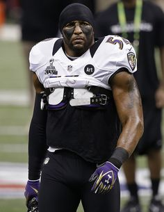 "Ray Lewis- ""I'm a machine."""