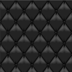 This black leather upholstery background can be used in everything from headboards to entire walls! Gorgeous!   #blackleather #leatherwall #maverickleathercompany