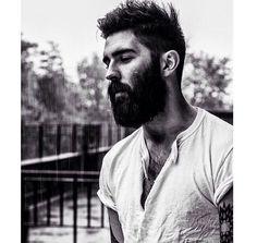 Chris John Millington, photo by Kerry Lytwyn Moustaches, Hairy Men, Bearded Men, Chris Millington, Hair And Beard Styles, Long Hair Styles, Chris John, John 3, Look Man