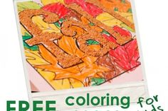 Kids Activity Blog  Printable Coloring Pages - Fall, Leaves & Scarecrows... AND ideas on how to encourage creativity with them