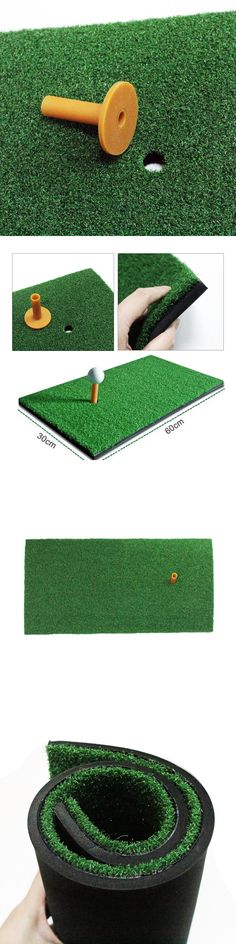 mats range driving pin tee nets golf professional line thick cages and