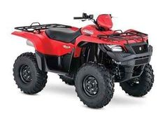 New 2016 Suzuki KingQuad 750AXi Flame Red ATVs For Sale in Missouri. Three decades of ATV manufacturing experience has led to the KingQuad 750 AXi, Suzuki's most powerful and technologically advanced ATV. Abundant torque developed by the 722 cc fuel-injected engine gives the KingQuad the get up and go that's a must-have for Utility Sport ATVs. With an independent rear suspension, locking front differential, and a handful of other features, the KingQuad 750 AXi comes loaded with all the…