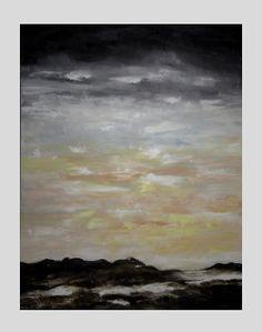 Oilcolour on canvas, size 116 cm x 88 cm.