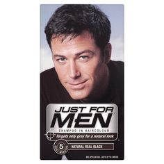 3 x Just For Men Shampoo In Hair Colour  Choose Your ColourReal Black H55 * Check out this great article. #DailyShampoo