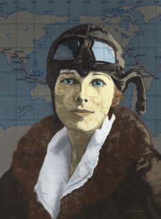 Amelia was a tomboy as a child and kept a scrapbook of successful women in mostly male fields, like film direction, law, management, and engineering.  From: http://www.ameliaearhart.com/about/bio.html