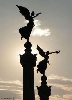 Monumento a Vittorio Emanuele II. Roma. Italia.