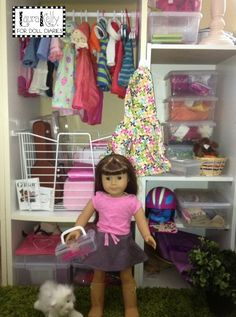 Creating The Organized Doll Closet
