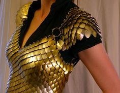 Scale maille top pattern