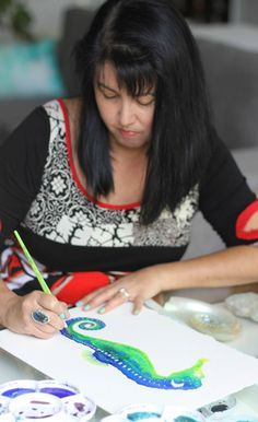 Cindy Lane painting at her studio desk Watercolor Tips, Watercolor Canvas, Watercolour Tutorials, Watercolor Techniques, Watercolour Painting, Painting Techniques, Painting Process, Studio Desk, Water Colors
