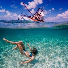 Artsy Underwater Cool Photos