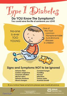 Type 1 diabetes symptoms...never think it can't happen to your child!