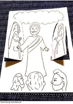 This can be used to teach the story of Jesus Transfiguration.