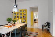 The fab Gothenburg home of a scandinavian design shop owner