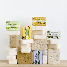 Our soaps contain 96% ingredients from natural origin, to take care of you… and the planet! #LesPlaisirsNature