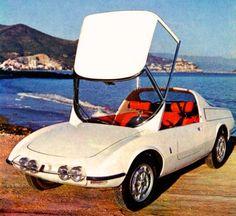 1965 ABARTH FIAT 1000 BERLINETTA - by Carrozzeria Pininfarina of Turin