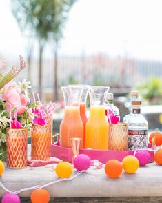 Get your party on this summer with some awesome entertaining ideas from our contributors. Poppin' Pool PartyThrow a killer pool party for your girls with all things pink and fun -- giant inflatable flamingo, anyone?