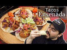 Tacos de Camarón y Pescado estilo Ensenada Shrimp Taco Recipes, Fish Recipes, Mexican Food Recipes, Tilapia Recipes, Authentic Mexican Recipes, Healthy Eating Recipes, Cooking Recipes, Oscar Food, Coleslaw Dressing