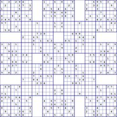 photo about Mega Sudoku Printable referred to as 11 Excellent sudoku pictures within just 2019 Sudoku puzzles, Puzzle, Game titles