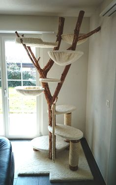 DIY -cat-tree Our cats love it!