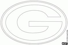 Green Bay Packers Printable Coloring Pages   ... NFC North Division, Lambeau Field, Green Bay, Wisconsin coloring page