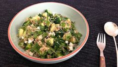 """I chose """"Leon's superfoods salad""""; a classic that's on the menu since the opening of the first restaurant. Healthy, easy, fast, nutritious and with just very normal superfoods like broccoli and avocado."""