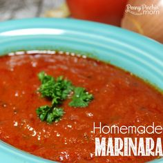 Never buy marinara in a jar again -- not after you try this simple recipe!!