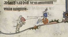 #art # #midleage #manuscripts #rabbits