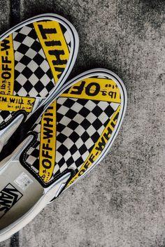 15779412825f90 Vans USA.AMAC Customs CheckerBoard Slip-On Classic Yellow Black White  Womens Shoes