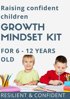 Growth mindset kit for kids. Parenting advice and tips to raise confident children! Parenting Teens, Parenting Advice, Indian Parenting, Practical Parenting, Parenting Quotes, Positive Parenting Solutions, Entrepreneur, Kits For Kids, Christian Parenting