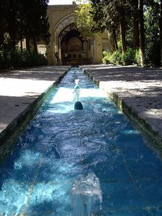 Bagh-e Fin, located in Kashan is a historical Persian garden on the UNESCO heritage list.